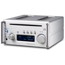 Crh101dabs-hifi Micro Con Dab / Dab+-micro Hifi 2x26w Cd / Mp3 Usb Dab+ Bt Argento