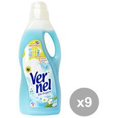 Set 9 Ammorbidente 1,5 Lt. Blu Oxygen Detergenti Casa