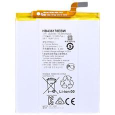 Batteria Ricambio Sostituzione 2700 Mah Huawei Ascend Mate S Hb436178ebw