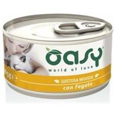 Wet Cat Mousse Con Fegato Lattina 85gr