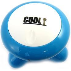mini massager di vibrazione 'ovni' blu - [ l8133]