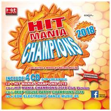 Hit Mania Champions 2018 (4 Cd) - Disponibile dal 09/03/2018