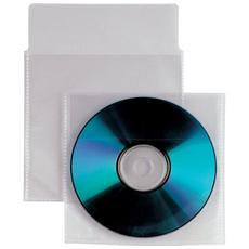 conf. 500. Buste trasparenti porta CD / DVD Insert 430104
