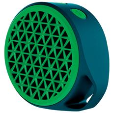 Speaker Audio Portatile X50 Bluetooth Potenza 3W Verde