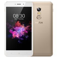 "Neffos X1 Oro 16 GB 4G / LTE Dual Sim Display 5"" HD Slot Micro SD Fotocamera 13 Mpx Android Italia"