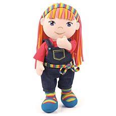 - Bambola Di Pezza, Modello Soft Friends, 30 Cm