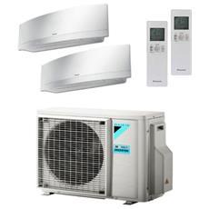 Condizionatore Fisso Dualsplit 2MXM40M / 2xFTXJ20MW Emura Potenza 7000+7000 BTU / H Classe A+++ / A++ Inverter e Wi-Fi