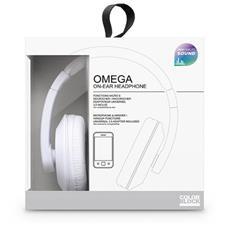 Interactive Omega Stereofonico Padiglione auricolare Bianco cuffia e auricolare