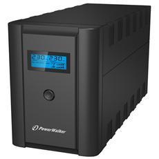 BlueWalker VI 2200 LCD A linea interattiva 2200VA 4AC outlet (s) Torre Nero gruppo di continuità (UPS)