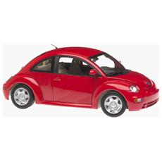 01037 Vw New Beetle Coupe '98 Rosso 1/18 Modellino