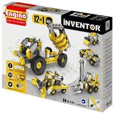 Inventor Mezzi Di Lavoro 12 In Uno Inventor Gioco Di Costruzioni 02487
