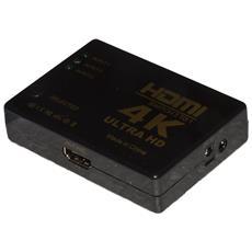 Mini Switch Hdmi 4k 3 Porte (3 Dispositivi 1 Tv)