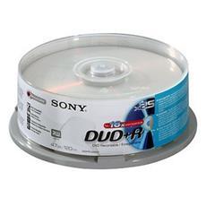 DVD+R 16x, 25, DVD+R, Fuso