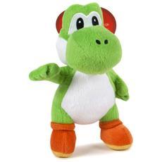 Peluche Super Mario Yoshi Verde Misura 1 Nintendo 23 cm