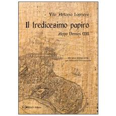 Il tredicesimo papiro. Anno Domini XII