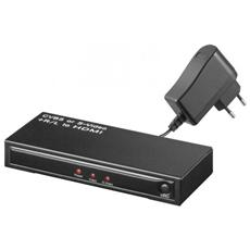 Convertitore Hdmi - Video Composito O S-Video+ Audio R / L