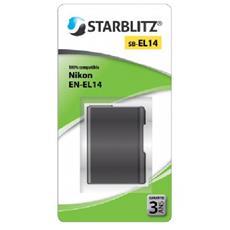 SB-EL14 Batteria agli ioni di litio equivalente a Nikon EN-EL14