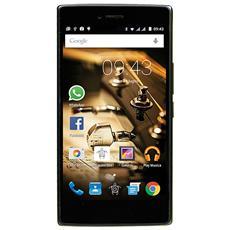 "PhonePad Duo X530U Oro 16 GB 4G/LTE Dual Sim Display 5"" HD Slot Micro SD Fotocamera 13 Mpx Android Italia"