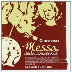 Messa della concordia per coro, assemblea e orchestra. CD
