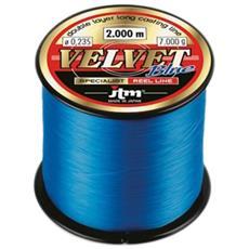 Filo Velvet Blue 16 Blu