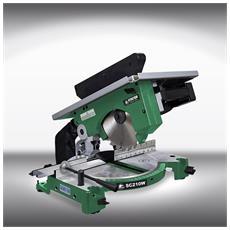 Troncatrice 1200w 210mm Sc210w Per Falegnameria Legno Stayer