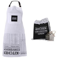 Loft Kitchen Conversations Grembiule (taglia Unica) (bianco / nero)