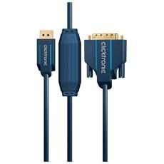 """DisplayPort / DVI 20 m, 20m, DisplayPort, DVI-D, 9,5 mm (0.374"""") , Box"""