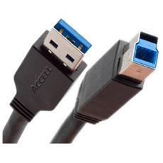 0.9m USB 3.0 AM / BM, USB A, USB B, Maschio / maschio