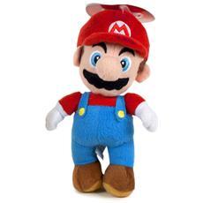 Peluche Super Mario Mario Misura 1 Nintendo 23 cm