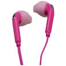 15087 Auricolare Stereofonico Cablato Rosa auricolare per telefono cellulare