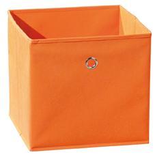 Cassetto Portaoggetti Arancione Linea Winny 32x32x31 Cm