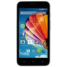 "PhonePad Duo G450 Argento 4 GB Dual Sim Display 4.5"" Slot Micro SD Fotocamera 5 Mpx Android Italia"
