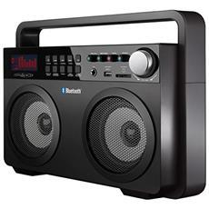 Radio Digit. Am / Fm Bt / Usb / Sd Ghetto Blaster Nero