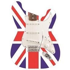 Borsa Rock tracolla forma chitarra Mod. UK Flag