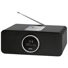 Radio Stereo Dab + Sr 4372 Nero