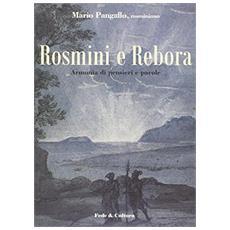 Rosmini e Rebora. Armonia di pensieri e parole