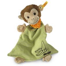 Jocko, Scimmia giocattolo, Beige, Marrone, Verde