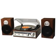 HIF-5988 Argento, Legno piatto audio