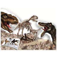 I Grandi Predatori 2in 1 Laboratorio Paleontologia Lisciani Piiccolo Genio