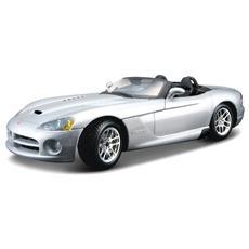 DieCast 1:24 Auto Dodge Viper SRT 10 Argento 22058