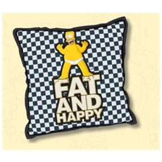 Simpson Cuscino Fat e Happy 40x40cm. 807655