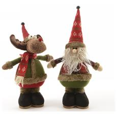 Pupazzi di Natale Altezza 30 cm