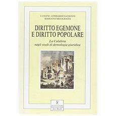 Diritto egemone e diritto popolare. La Calabria negli studi di demologia giuridica