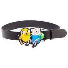 Adventure Time - Finn & Jake Black (Cintura Tg. M)