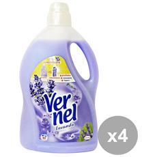 Set 4 Ammorbidente 3 Lt. Lavanda Detergenti Casa