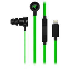 Hammerhead Auricolari Lightning colore Verde / Nero