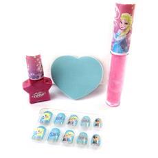 manicure scatola 'frozen - ' rosa blu - [ n4922]