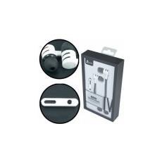 Auricolare Stereo Per Apple Iphone 6, Samsung Galaxy S7 Con Tasto Di Risposta E Microfono Colore Nero Acura Blister