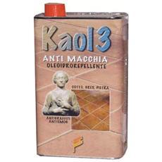 Kaol 3. Antimacchia oleoidrorepellente