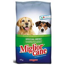 4kg. secco Special Menu Manzo / riso / verd. - Cibo Per Cani